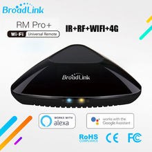 Broadlink RM PRO + RM33 2019Universal Inteligente Controle Remoto Smart Home Automation WiFi + IR + RF Switch Para IOS Android Phone(China)