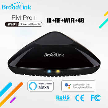 Broadlink RM PRO+ RM33 2019Universal Intelligent Remote Controller Smart Home Automation WiFi+IR+RF Switch For IOS Android Phone - DISCOUNT ITEM  23% OFF All Category