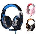 Hot kotion each g2000 gaming fone de ouvido fone de ouvido fone de ouvido usb 7.1 atualização de versão vibração fone de ouvido com microfone som surround a partir de each g2000