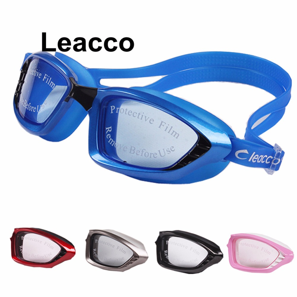Home Improvement Waterproof Anti-fog Glasses Uv Protection Hd Swimming Goggles Eyewear 5 Color Bath Mirrors