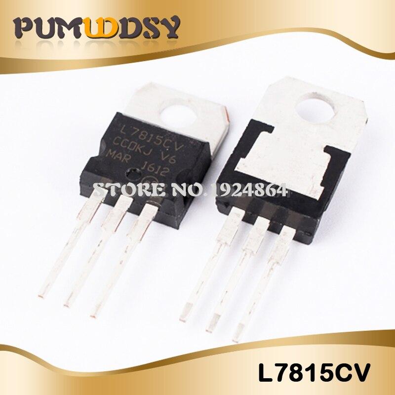 10pcs L7805CV LM7805 L7805 7805 Voltage Regulator IC 5V 1.5A TO-220