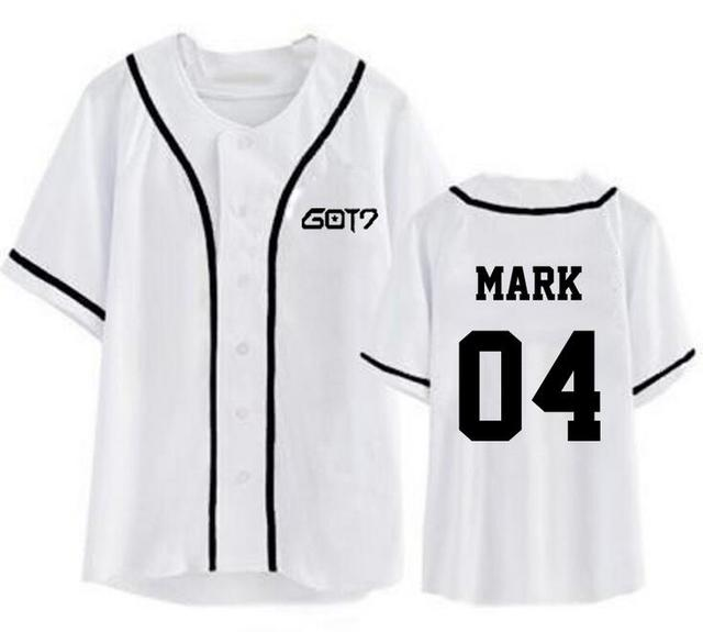 Got7 Baseball T-shirt Fashion 2