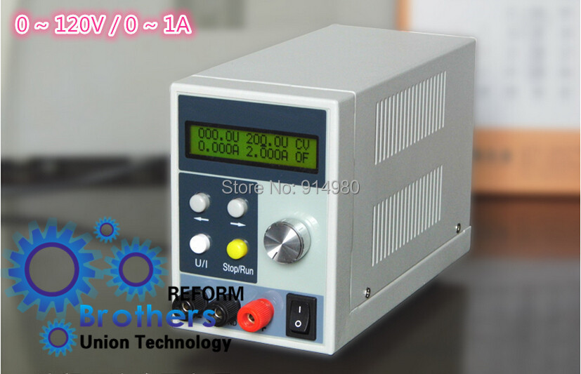 0 ~ 120V 0 ~ 1A DC power adjustable small volume, high precision programmable power supply Toy Accessories