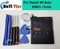 Para xiaomi mi note bm21 batería 100% nuevo de alta calidad 2830 mAh batería ForXiaomi Nota móvil BM21 Batería En Stock + herramientas