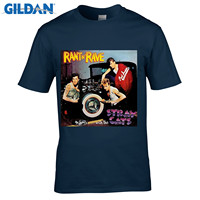 GILDAN O Neck Short Funny T Shirt Stray Cats Rant N Rave With The Stray Cats