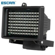96 LED إضاءة إضاءة CCTV 60m الأشعة تحت الحمراء للرؤية الليلية الإضاءة المساعدة في الهواء الطلق مقاوم للماء لكاميرا المراقبة