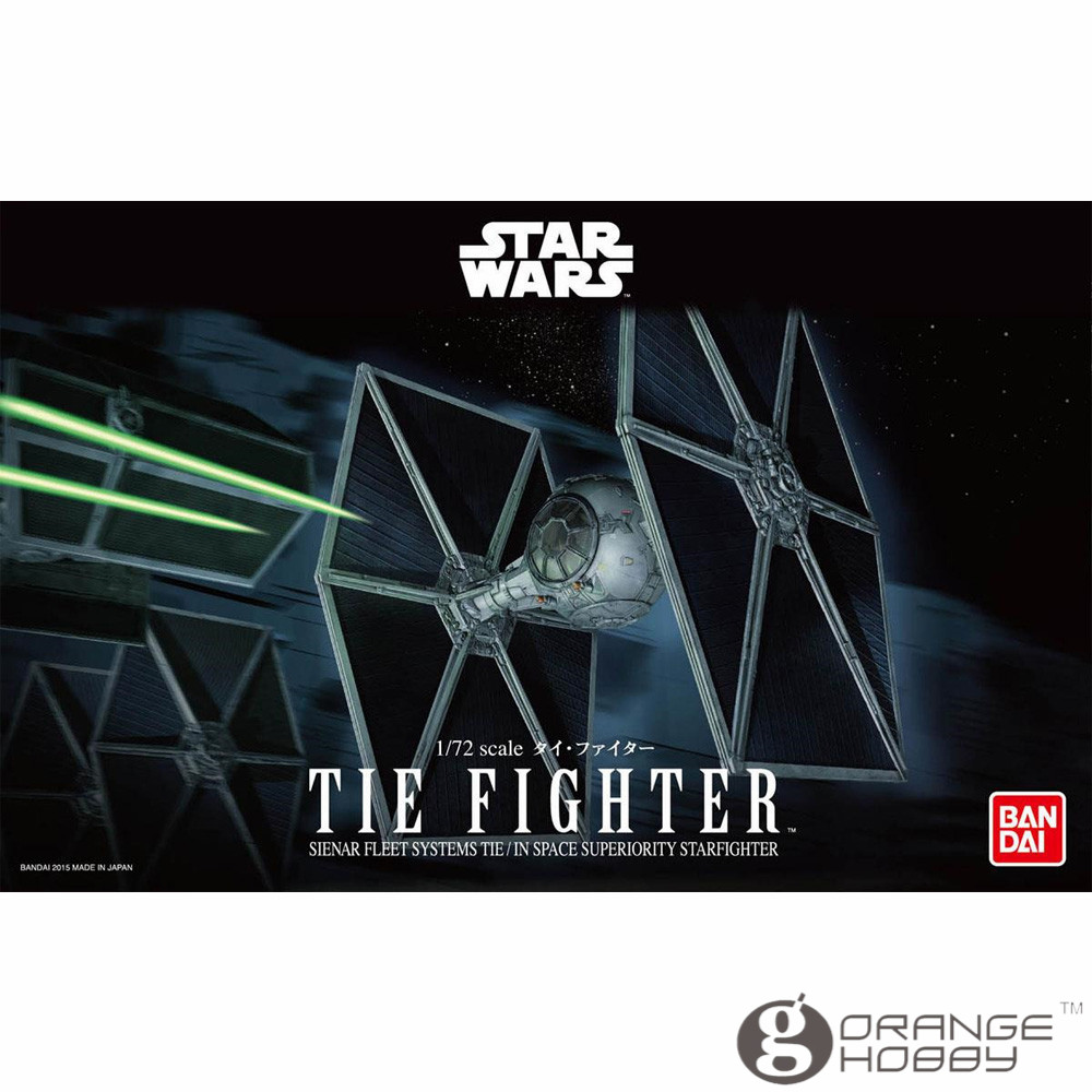 OHS Bandai Star War 1 72 Tie Fighter Assembly Model Kits oh