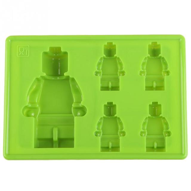 1pc silicone ice cube tray mold ice cream maker mold green blue ice