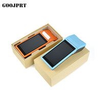 3G/4G PDA POS Handheld NFC Terminal Built in Thermal Bluetooth Printer 58mm Wifi Android PDA Barcode Camera Scanner 1D