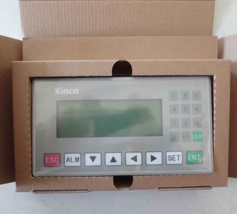 New in box offer KINCO TEXT DISPLAY MD204L  4.3FSTN Monochromatic 20 Keys dhl ems 2 sets 1pc md204lv4 md204l text display new in box