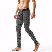 Underwear-Pants Long-Johns Bulge-Design SEOBEAN Thermo-Leggings Men Fashion Male Cotton