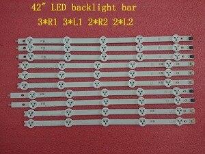 (جديد الأصلي عدة) 10 قطعة LED شريط إضاءة خلفي ل LG 42LA620V 6916L-1412A 6916L-1413A 6916L-1414A 6916L-1415A 1385A 1386A 1387A