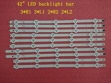 (新オリジナルキット) 10 個 LED バックライトストリップ LG 42LA620V 6916L 1412A 6916L 1413A 6916L 1414A 6916L 1415A 1385A 1386A 1387A