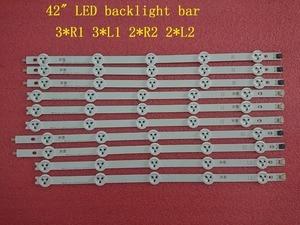 Image 1 - (新オリジナルキット) 10 個 LED バックライトストリップ LG 42LA620V 6916L 1412A 6916L 1413A 6916L 1414A 6916L 1415A 1385A 1386A 1387A