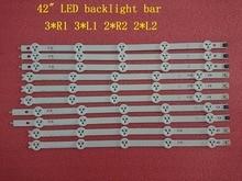 (חדש המקורי ערכת) 10 PCS רצועת תאורת LED האחורית עבור LG 42LA620V 6916L 1412A 6916L 1413A 6916L 1414A 6916L 1415A 1385A 1386A 1387A