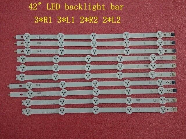 (ใหม่ชุดเดิม) 10 PCS LED backlight สำหรับ LG 42LA620V 6916L 1412A 6916L 1413A 6916L 1414A 6916L 1415A 1385A 1386A 1387A