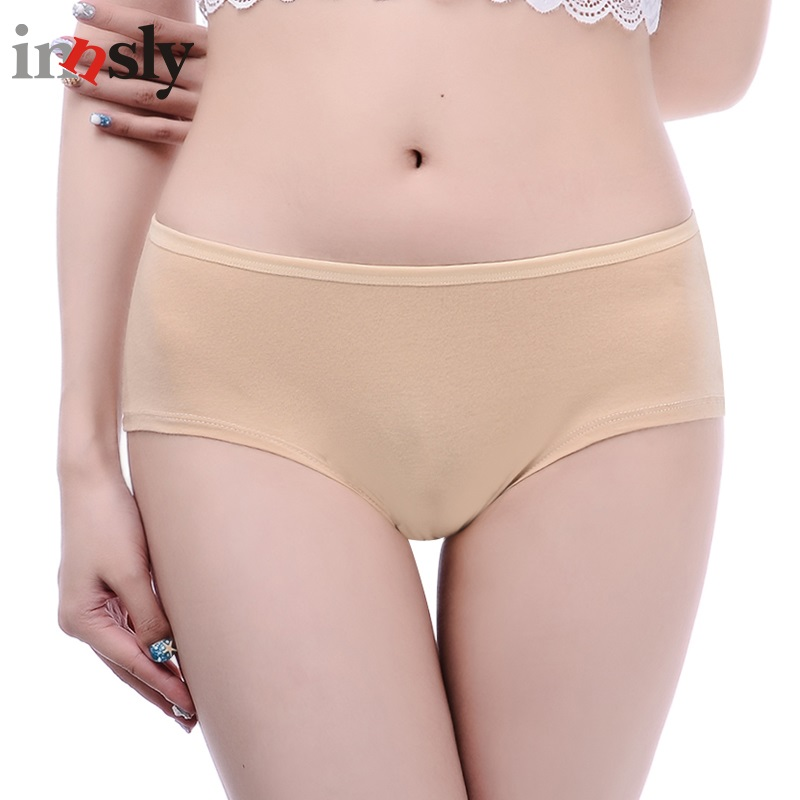 Innsly Underwear Women   Panties   Cotton Underwear Big Size   Panty   Female Briefs Comfortable Ladies Lingerie Femme Bragas US Size
