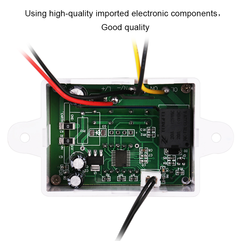 AC 110 220V 10A Digital Temperature Controller Intelligent Thermostat 50 110C Cooling Heating Control Regulator XH W3001 in Temperature Instruments from Tools