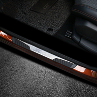 For Peugeot 3008 GT 2016 2017 2018 Car Door Sill Scuff Plate Threshold Plate Cover Trim Auto Accessories Car Styling