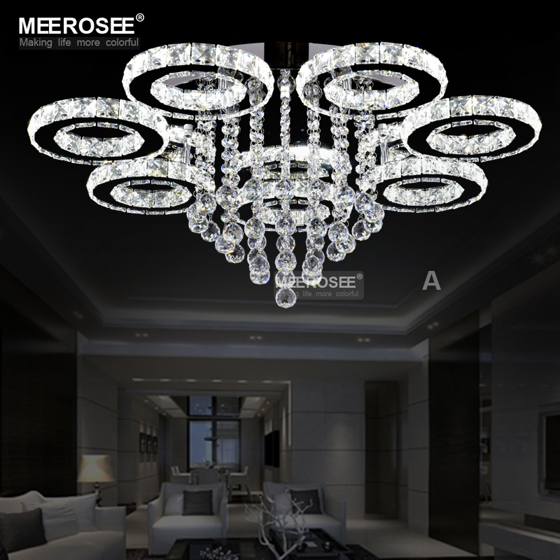 New arrival LED Crystal Chandelier Light Lustres de cristals Lamp for Living room Diamond Crystal Light