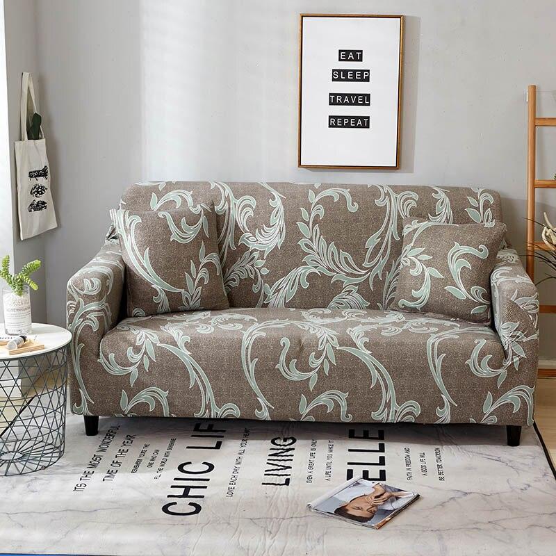Image 5 - Спандекс чехлы для диванов стрейч чехол для секционного дивана диван набор диванных чехлов для гостиной диван housse количество, диванное покрывало, 1/2/3/4 местный-in Покрывало на диван from Дом и животные