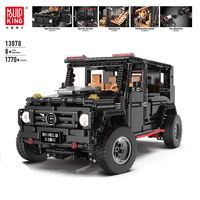 APP Technic 13070 Compatible With Legoed Technik SUV G5500 AWD Wagon RC Motors Car Sets Building Blocks Bricks Educational Toys