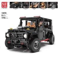 APP Technic 13070 Compatible With Legoed Technik SUV G5500 AWD Wagon RC Motors Car Sets Building Blocks Bricks Educational Toys