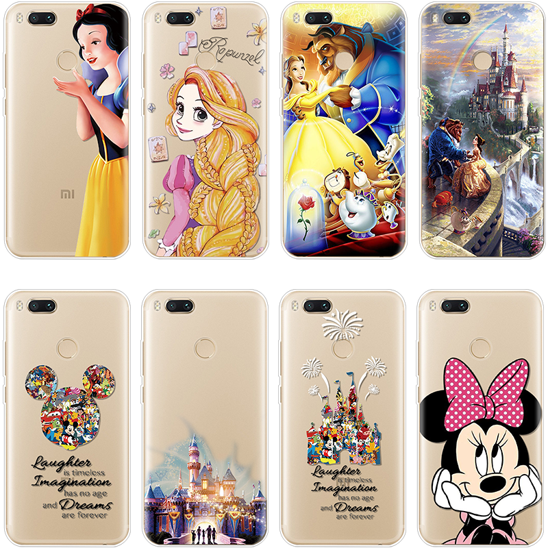 Go-Note Fairy-Tale Xiaomi Redmi Princess Plus 6-Pro-Cover For 7-pro/Go-note/5/.. Soft-Tpu
