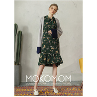 MOKO 2017 Cardigan Open Stitch Maternity Women Sweater Slim Lady Spring Long Knitted Cardigans Casual Poncho