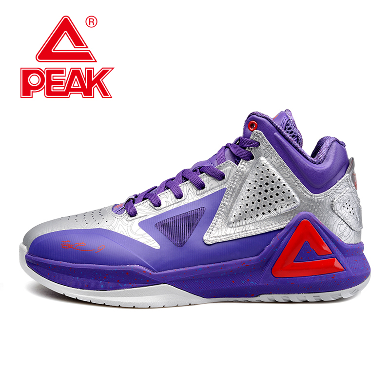PEAK SPORT Tony Parker I Limited Edition Colorway Men Basketball Shoes Athletic Sneakers Gradient Dual FOOTHOLD Tech Boots peak sport monster ii men basketball shoes foothold tech sneakers breathable training athletic durable rubber outsole boots