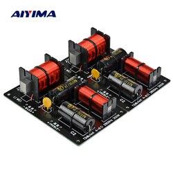 Aiyima 2 pces 350 w 2 maneiras crossover placa de áudio tweeter baixo alto-falante divisor de freqüência 2 unidade para 4-8ohm diy alto-falante filtro 2800 hz
