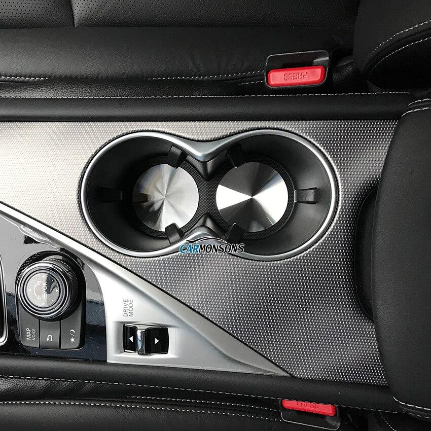 Carmonsons for Infiniti Q50 Q60 Q70 QX30 Q30 QX50 QX60 QX70 QX80 G M FX EX JX Console Cup Holder Pad Accessories Car Styling