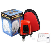 ACUANGLE A8826D Laser Level 2 Lines 1 Dots 1V1H Portable 360 Self Leveling Cross Red Line