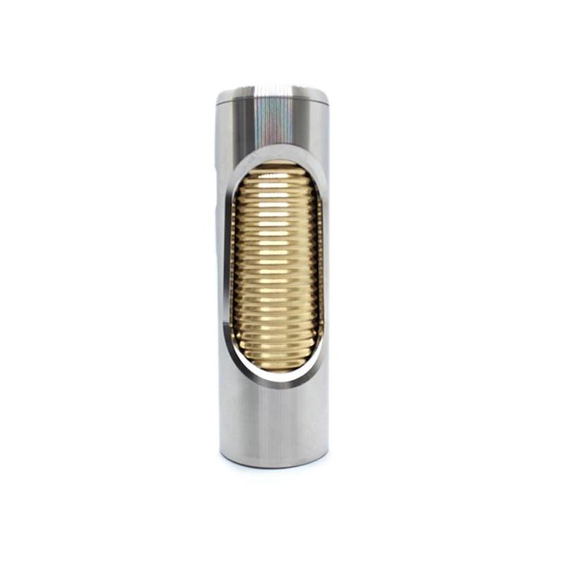 Marstech Oldboy Noname mécanique Mod 24mm diamètre 18650 batterie Cigarette électronique Vape Mech Mod pour RDA RTA RDTA atomiseur