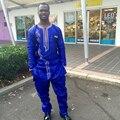2016 Homem Design de Moda Africano Bazin Riche Bordado Material de Impressão 100% Algodão Plus Size PH2
