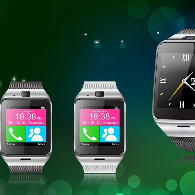 Smart Bluetooth Watch with NFC SIM Card Function Smart Watch for Android Phone