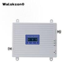4g Booster GSM WCDMA LTE UMTS 2g 3g 4g ripetitore del segnale del telefono cellulare 70dB 900 1800 2100 unità ripetitore amplificatore di segnale Tri Band