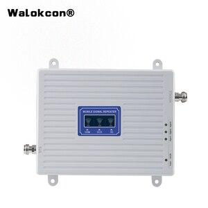 Image 1 - 4g 부스터 GSM WCDMA LTE UMTS 2g 3g 4g 휴대 전화 신호 부스터 70dB 900 1800 2100 트라이 밴드 신호 증폭기 리피터 유닛