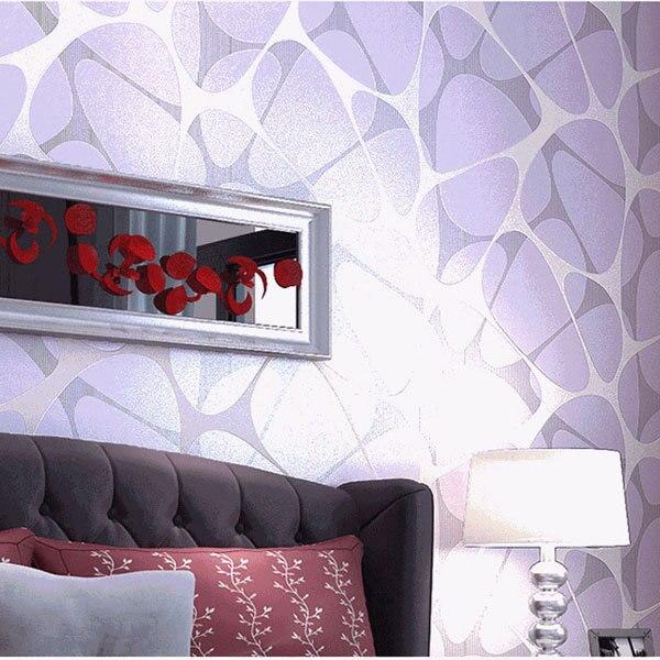 Modern Simple Nest Design Non Woven Wallpaper Bedroom Living Room