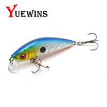 Купить с кэшбэком  YUEWINS Minnow Jerkbait Fishing Lure 7cm 8.1g Crankbait Wobbler Floating Wobble Artificial Pesca Hard Bait Fishing Tackle TP302