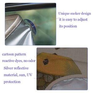 Image 5 - 1pc universal Car Side window sunshade curtain Summer Adjustable sunscreen Baby sun shade solar UV protection foils