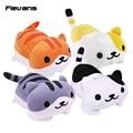 Cute Neko Atsume Cat Plush Toys Soft Stuffed Animal Dolls Cushion Pillow 4 Styles 16X29.5cm