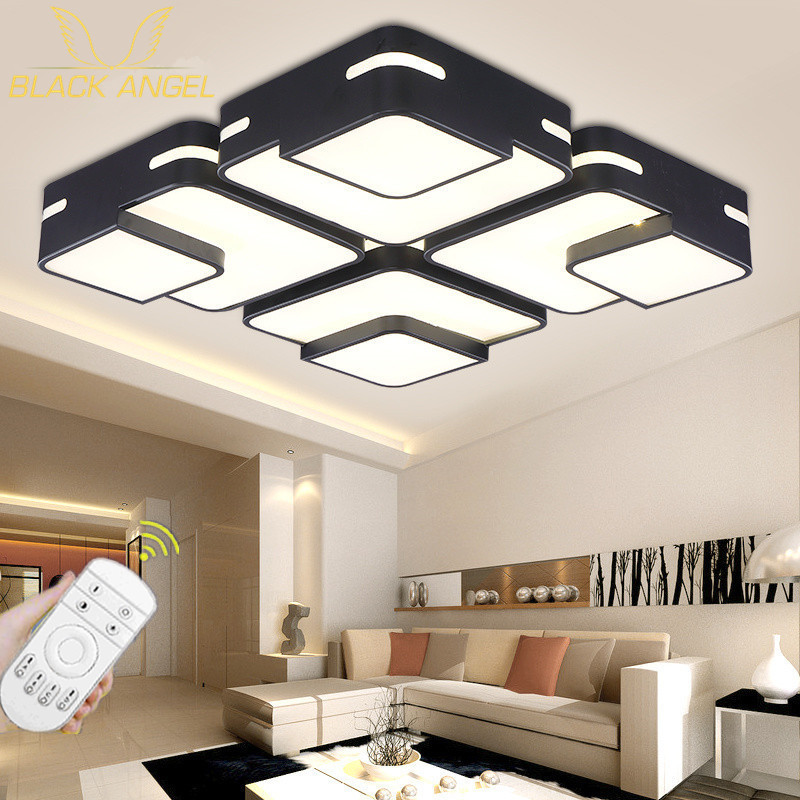 2015 Modern Led Ceiling Lights For Living Room luminaria Indoor Lamp Lighting lustres de sala Ceiling Lamp Bedroom Free shipping noosion modern led ceiling lamp for bedroom room black and white color with crystal plafon techo iluminacion lustre de plafond