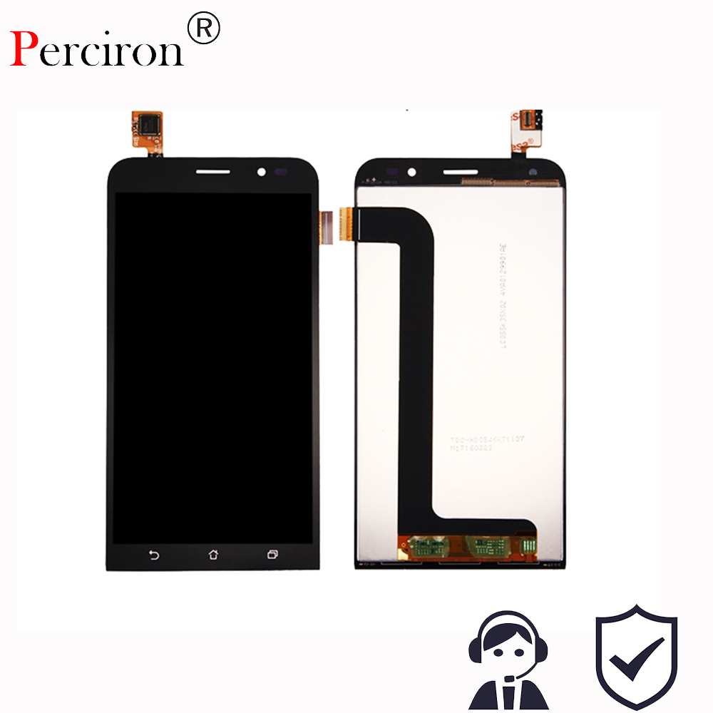 цена на New 5 inch Full LCD Display + Touch Screen Panel Digitizer Assembly For ASUS Zenfone Go ZB552KL Free Shipping