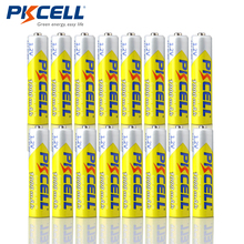 16pcs/Lot PKCELL High Energy 1.2V 1000mAh NiMh AAA Rechargeable Battery Ni-mh 3A Batteries Battria