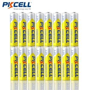 Image 2 - Lote de 16 unidades de pilas recargables AAA de 1,2 V, NiMh 3A, 1000mAh, con cargador de batería para NI MH AAA AA