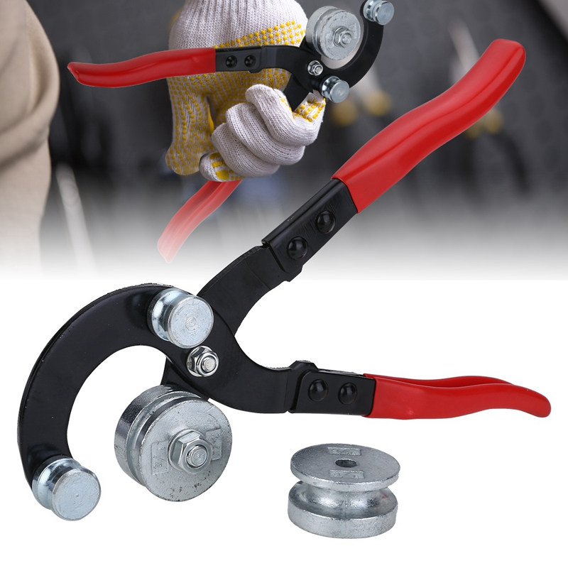 Image 4 - New Manual Brake Tubing Pipe Bender Bending Tool 3/16 Inch 1/4 Inch 5/16 Inch 3/8 Inch Diameter Heavy Duty Machine Tools Acces-in Pliers from Tools