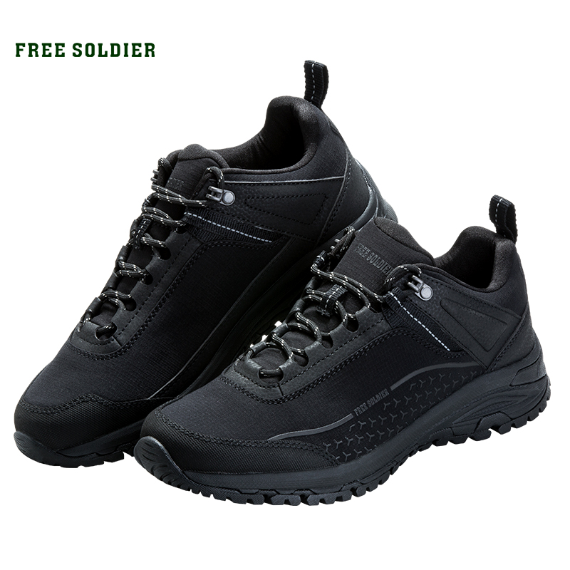 FREE SOLDIER Outdoor sports tactical military shoes men s breathable non slip shoes for camping hiking