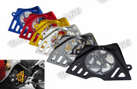 waase CNC Aluminum Front Sprocket Chain Guard Cover Left Side Engine For Honda CBR250R CBR 250R 2011 2012 2013 2014