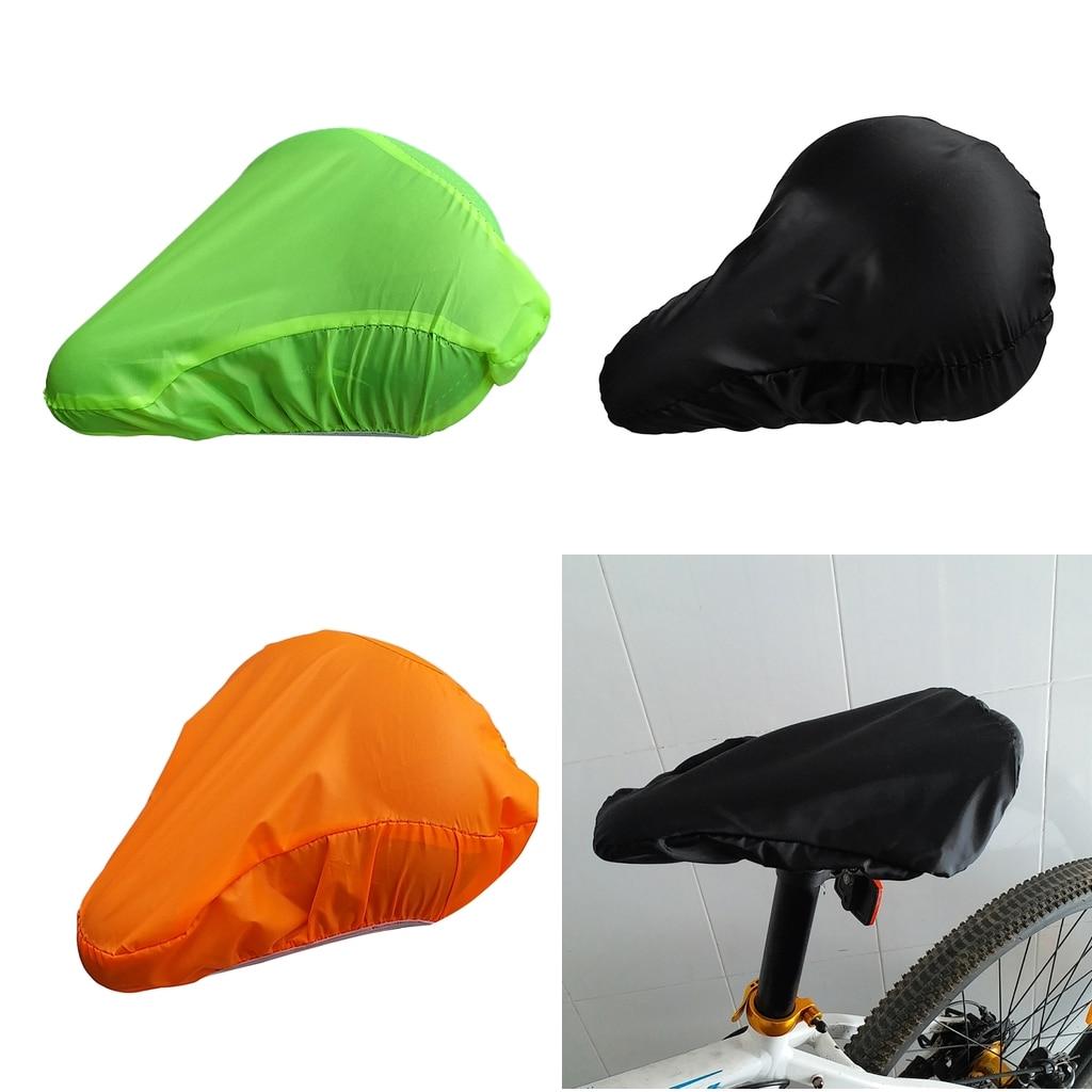 Waterproof Bike Seat Rain Cover Bicycle Saddle Dust Protection Shield